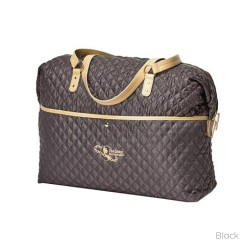 Satchels Quilted Cleo Overnighter